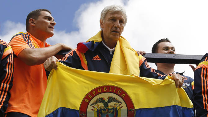 Pekerman extends contract with Colombia until 2018