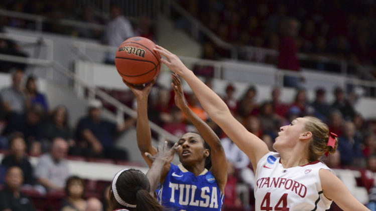 NCAA Womens Basketball: NCAA Tournament-Stanford vs Tulsa