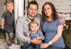 Josh and Anna Duggar with their daughter Mackynzie and son Michael | Photo Credits: Scott Enlow/TLC