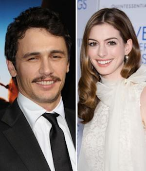 James Franco and Anne Hathaway -- FilmMagic