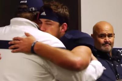Rice senior's emotional postgame speech is everything good about sports
