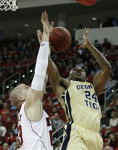 Georgia Tech beats NC State 82-71