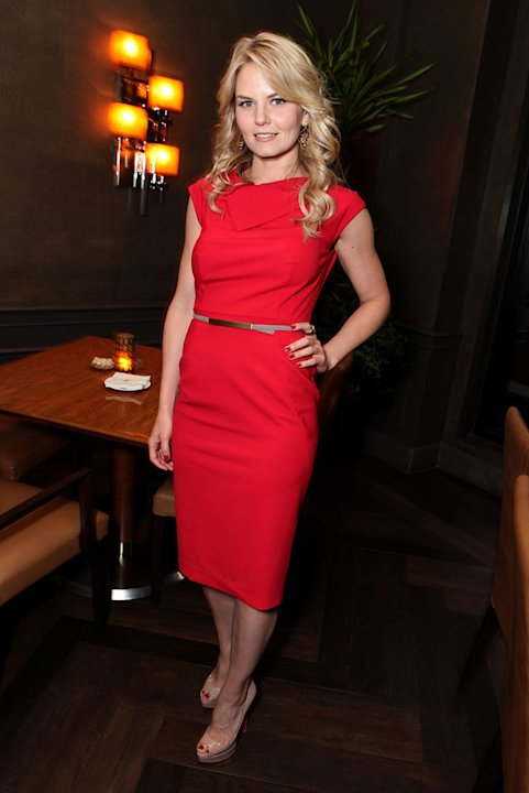 "Jennifer Morrison at a dinner hosted by The Editors of InStyle to celebrate Lionsgate's ""WARRIOR"" at Culina on August 20, 2011 in Beverly Hills, California."