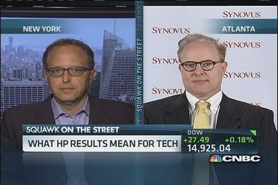 What HP results mean for tech