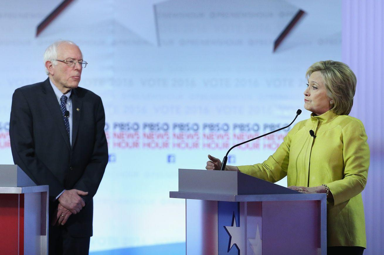 Clinton turned Sanders's attacks on her Wall Street ties into a game of chicken. And she won.