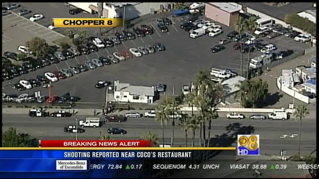 Shooting reported near Coco's restaurant in El Cajon