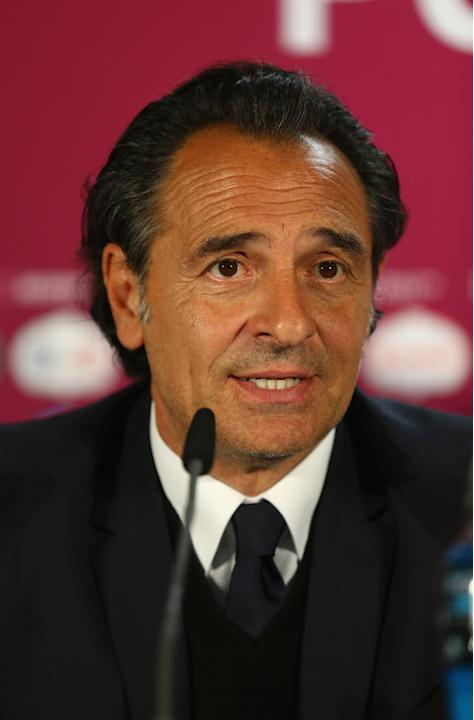 Post-Match Press Conferences - Italy v Croatia, Group C: UEFA EURO 2012