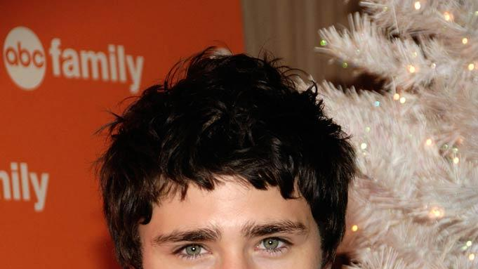 "Matt Dallas attends  ABC Family's ""25 Days of Christmas"" Winter Wonderland at the Rock Center Cafe in Rockefeller Center."