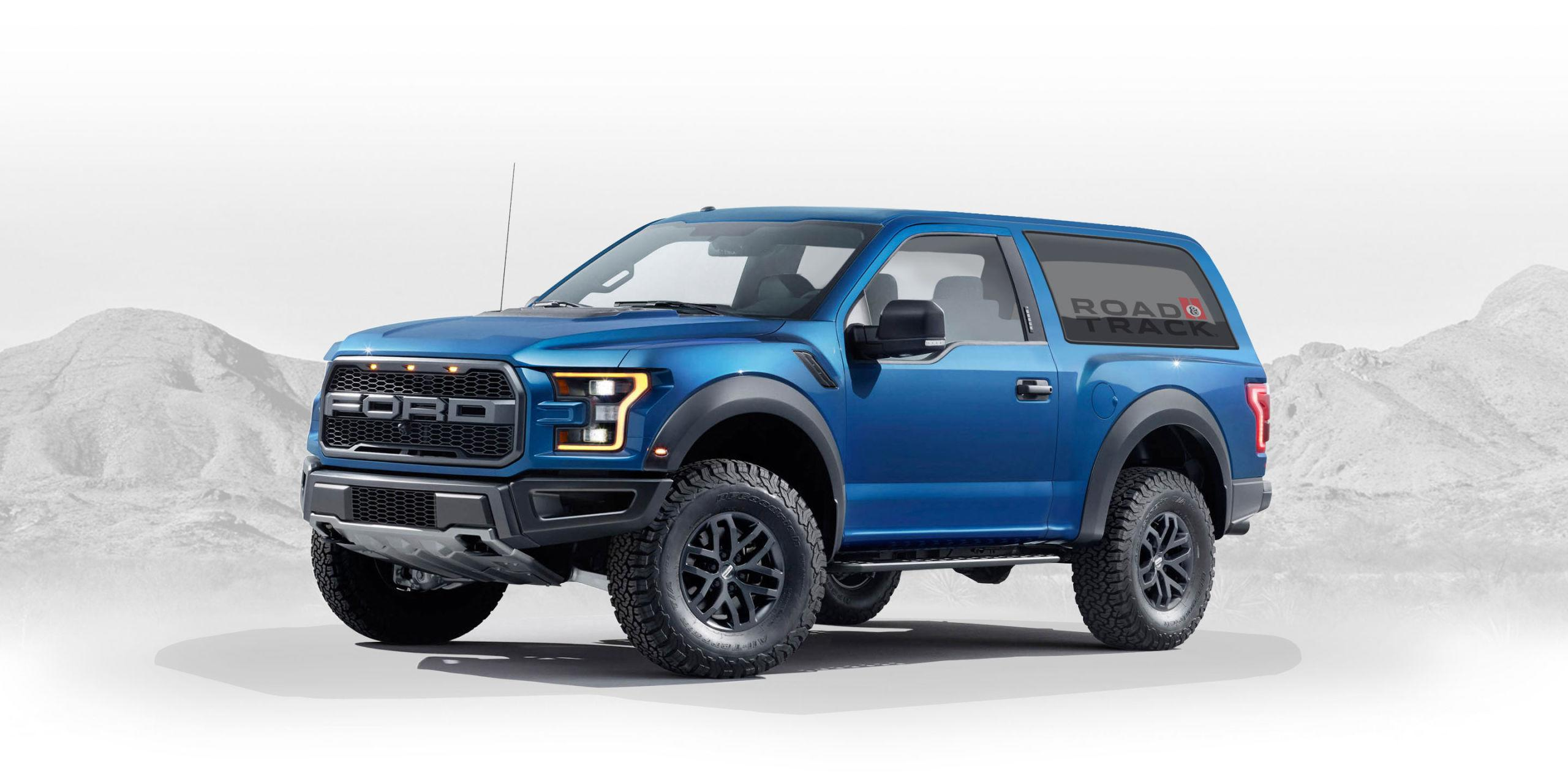 Raptor-Based 2020 Ford Bronco Concept Designed by a Fan Is Perfection