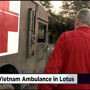 Decades After Vietnam War, Ambulance Finds Its Way To Driver 7,600 Miles Away