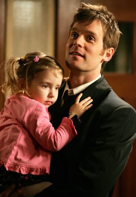 Peter Krause with Brenna/Bronwyn Tosh HBO's Six Feet Under