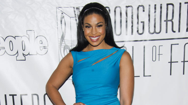 Jordin Sparks attends the Songwriters Hall of Fame 44th annual induction and awards gala on Thursday, June 13, 2013 in New York. (Photo by Charles Sykes/Invision/AP)