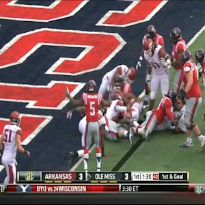 11/09/2013 Arkansas vs Ole Miss Football Highlights