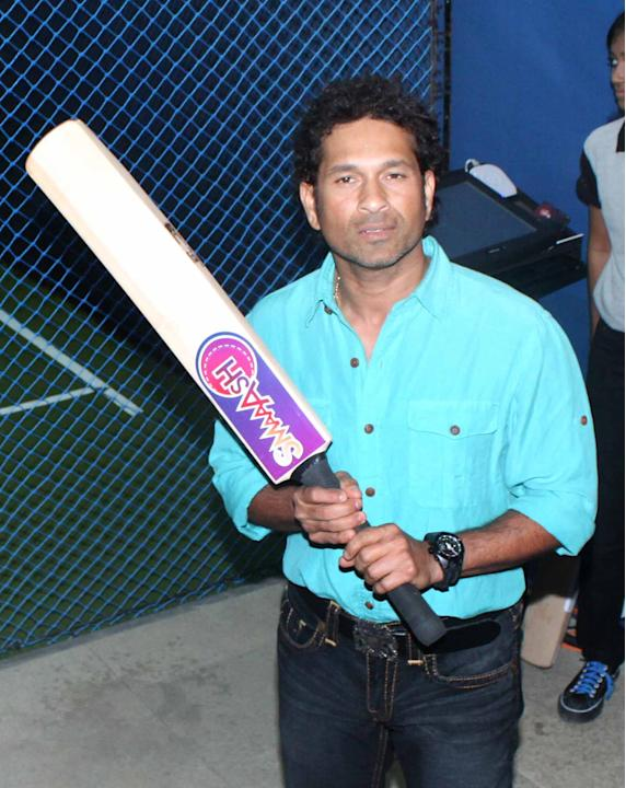 Sachin Tendulkar smashes it