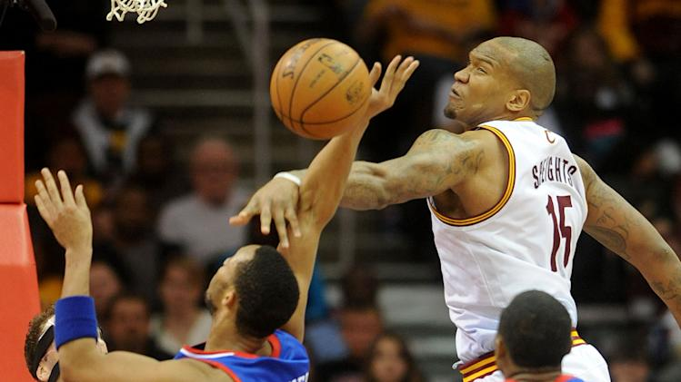 NBA: Philadelphia 76ers at Cleveland Cavaliers