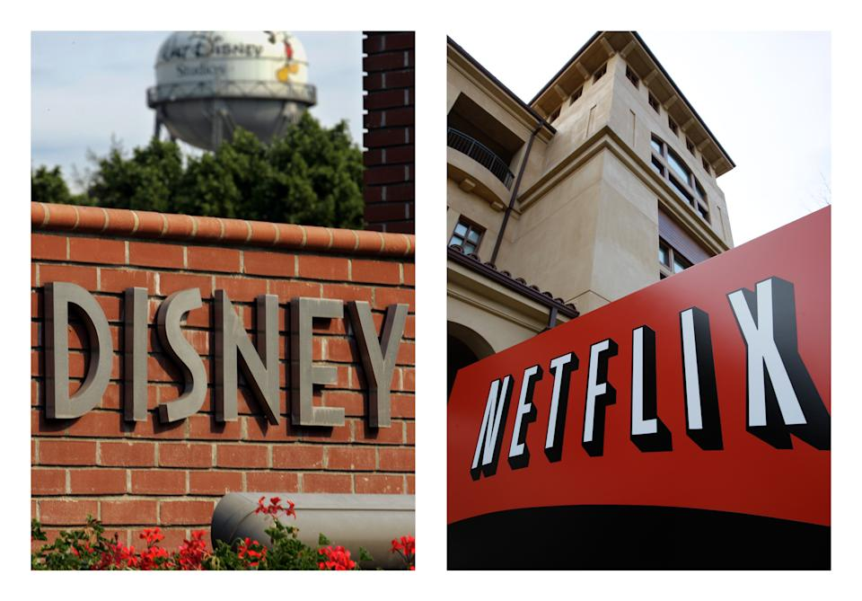 Netflix outbids Starz for rights to Disney movies