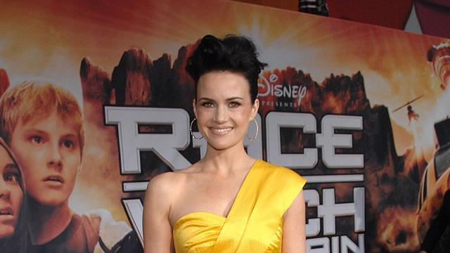 Race to Witch Mountain LA Premiere 2009 Carla Gugino