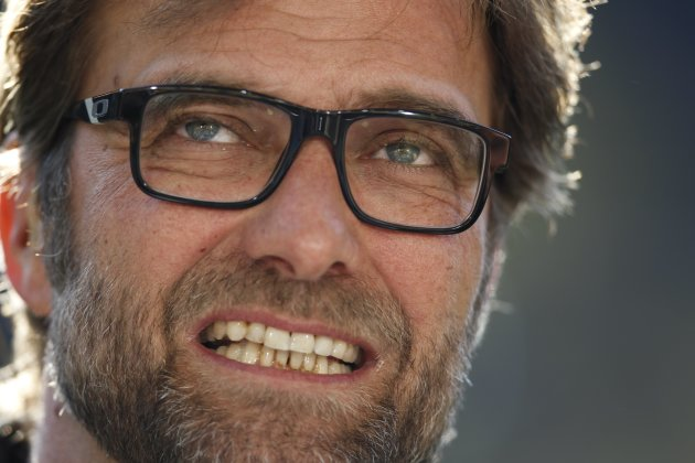 File photo of Borussia Dortmund's coach Klopp  before their German first division Bundesliga soccer match against Bayern Munich in Dortmund