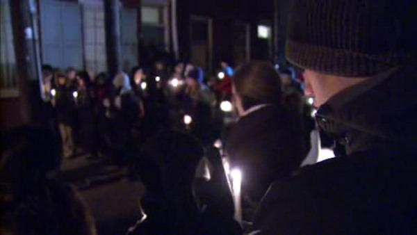 Vigil held for Center City doctor, suspect appears before judge