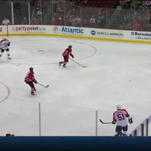 Keith Kinkaid Save on Dmitry Kulikov (03:42/1st)