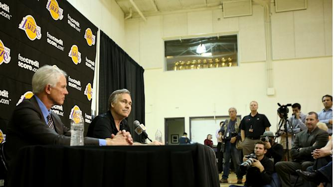 Los Angeles Lakers Introduce Mike D'Antoni