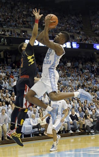 North Carolina beats Maryland 62-52