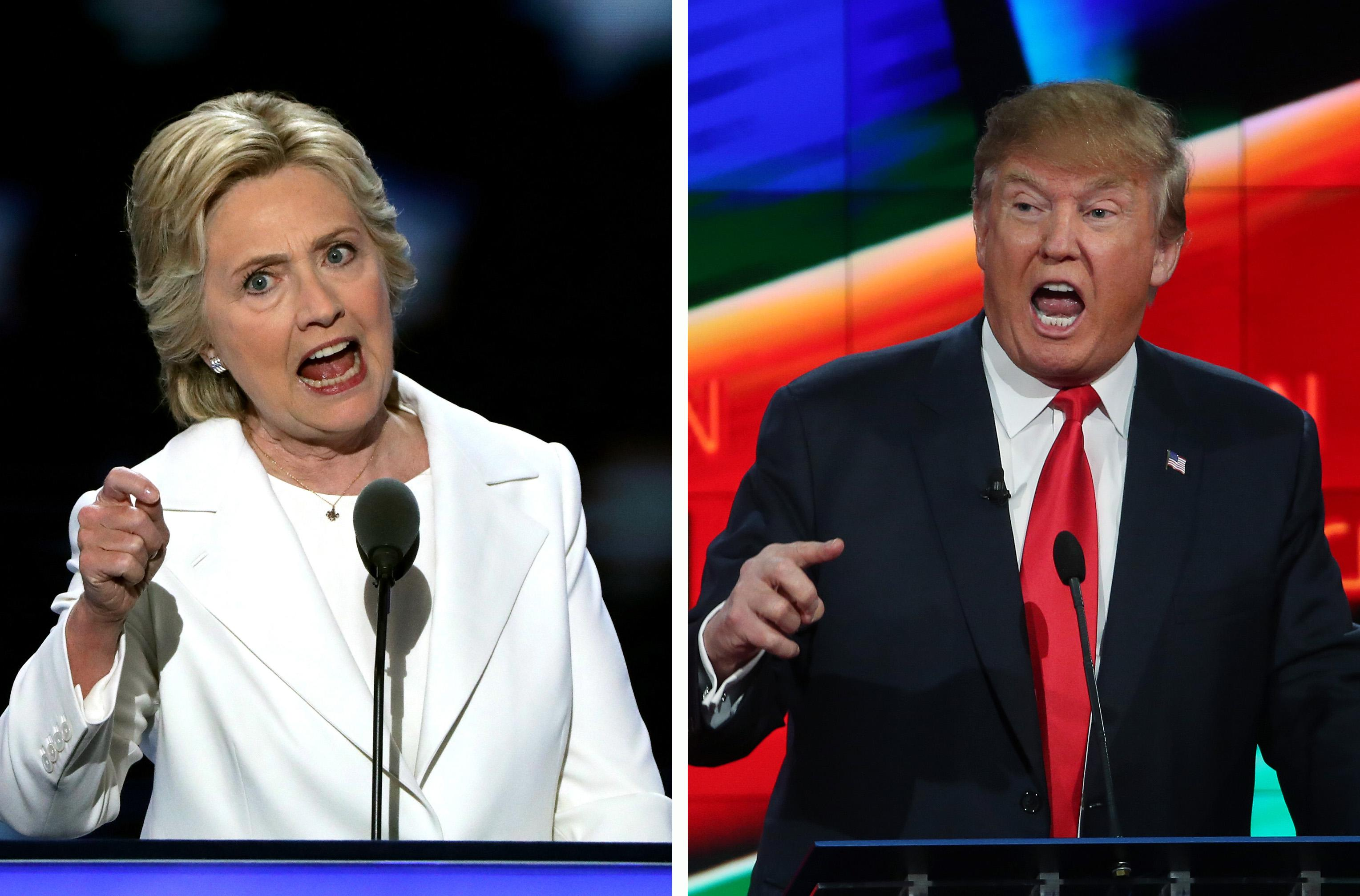 What To Expect When Clinton, Trump Duel