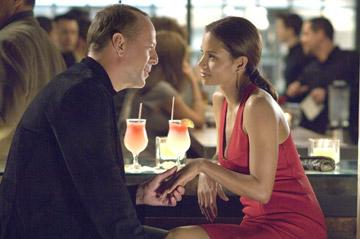 Bruce Willis and Halle Berry in Sony Pictures' Perfect Stranger