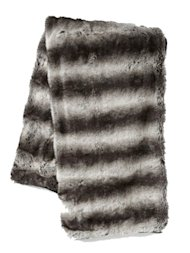 West Elm faux-fur throws