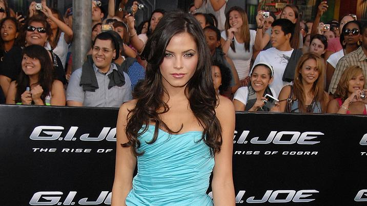 GI Joe Rise of the Cobra LA Premiere 2009 Jenna Dewan