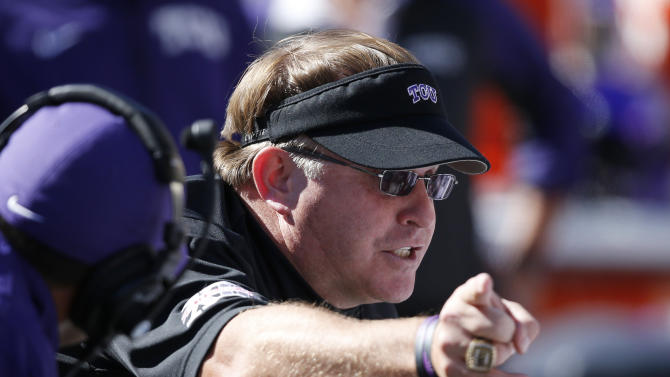 TCU, Patterson stuck in bad cycle to start Big 12