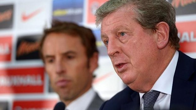 Gareth Southgate, left, admits Roy Hodgson's, right, resources are limited