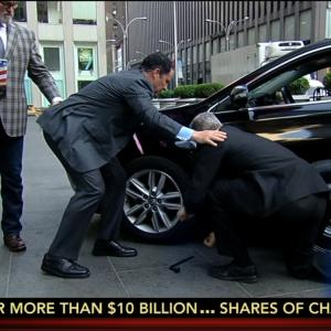 Fox News Hosts Changing Tire Makes for Horribly Awkward Segment