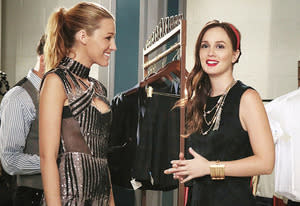 Blake Lively and Leighton Meester | Photo Credits: Giovanni Rufino/The CW