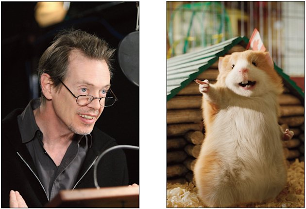 Steve Buscemi G-Force Production Stills Walt Disney 2009