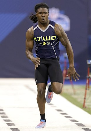 Sammy Watkins runs the 40 at the combine (AP)