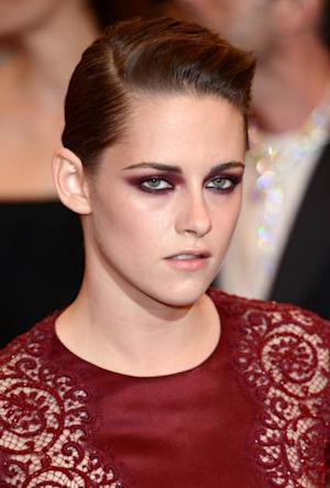 Kristen Stewart attends the Costume Institute Gala for the 'PUNK: Chaos to Couture' exhibition at the Metropolitan Museum of Art on May 6, 2013 in New York City -- FilmMagic