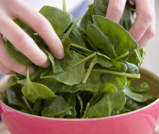 Three healthy spinach recipes