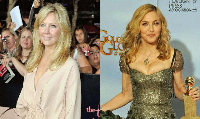 Buzzmakers: Heather Locklear, Madonna and More