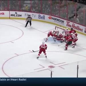 Jimmy Howard Save on David Legwand (13:12/1st)