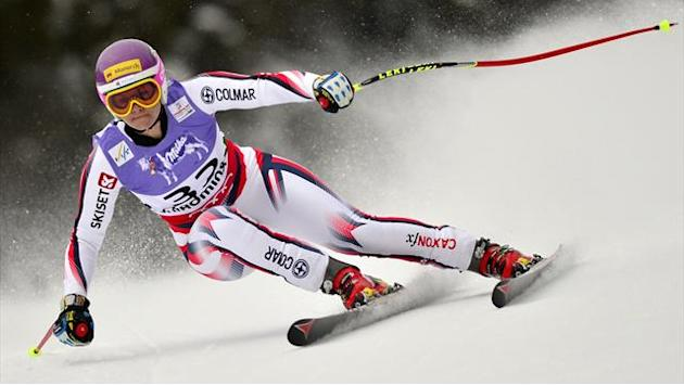 Alpine Skiing - Emotional Alcott claims Olympic finish is her gold medal