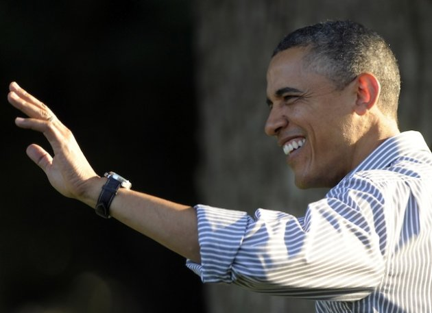 President Barack Obama hosts lawmakers Wednesday for a White House picnic (Susan Walsh/AP)
