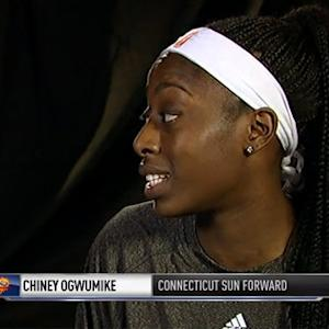 2014 WNBA All-Star: Chiney Ogwumike