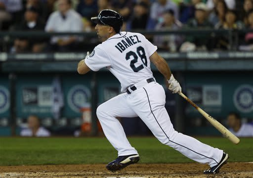 Morales HR gives Mariners 6-3 win in 10 innings