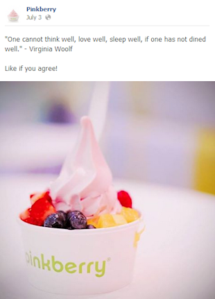 Pinkberry Swirls Social Delight image pinkberry post 1 NEW