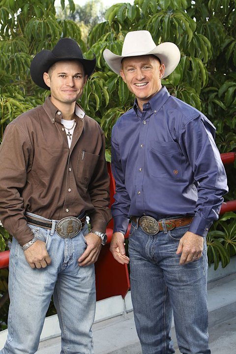 Jet and Cord McCoy, Cowboys, race around the world for a second chance to win one million dollars, on &quot;The Amazing Race: Unfinished Business.&quot; 