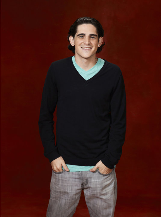 "James Massone (Team Cee Lo) competes on ""The Voice."""
