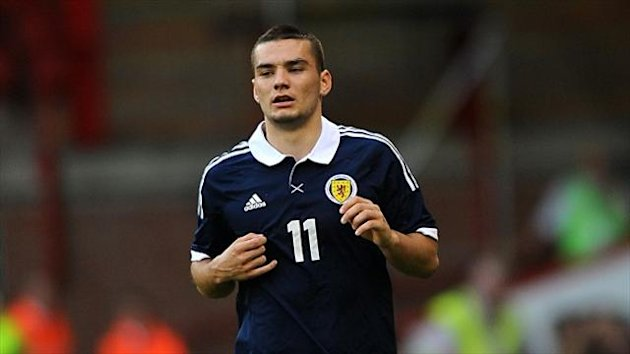 Tony Watt, pictured, was left out of Billy Stark's squad for the Euro 2015 qualifiers against Slovakia and Georgia