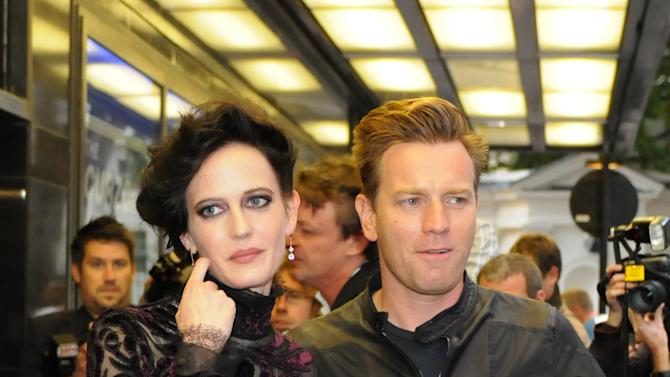 French actress Eva Green and British actor Ewan McGregor arrive for the Perfect Sense premiere at a central London venue, Tuesday, Oct. 4, 2011. (AP Photo/Edwin Marcow)