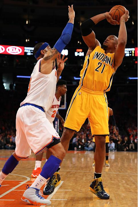 Indiana Pacers v New York Knicks - Game One